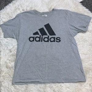 ADIDAS Grey Logo T-Shirt